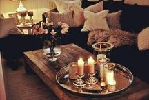 @Your lovely home / A place where you feel warm and relaxed.