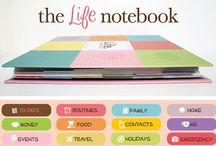 Organise my life / Tips & tricks to help organise my time, paperwork, money etc