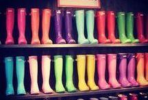 Modne kalosze / ... bo deszcz również może być inspiracją dla trendów.