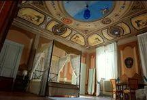 Il nostro Castello / Gli interni del Castello Bonaccorsi ed una sua immagine da fuori