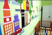 Malowane pokoje dziecięce / Znajdują się tu malunki ścienne wykonane przeze mnie
