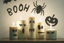 Halloween / Une sélection d'ambiance (pas trop effrayantes), de recettes (pas trop repoussantes ;-), de DIY (faciles) et de costumes d'Halloween (rigolos) !
