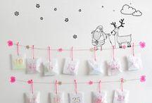 Calendrier de l'avent / Notre sélection de calendriers de l'Avent DIY .... Le compte à rebours avant Noël commence ;-)