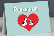 Valentine's Day Cards for Dog Lovers / Valentines Cards to send to the Dog Lovers in your life