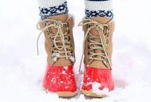 Śniegowce ... nie tylko na śnieg. / Wielka zmyłka na koniec zimy. Serwisy pogodowe straszą nadciągająca falą śnieżnych opadów i spadkiem temperatur. Ale spokojnie, spokojnie ... wciągamy na nogi śniegowce i zabezpieczamy się przed nawet najbardziej srogimi mrozami. Zobaczcie nasze propozycje.