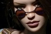 I love / Lara Croft Tonner doll that I love