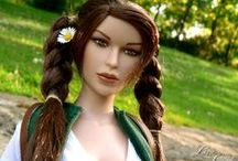 Tomb Raider IV / My customizations for Tonner Lara Croft doll. Outfits of Tomb Raider IV.