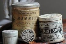 ~ Old Tins & Cans ~