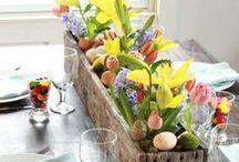 Easter Decorations / Easter Decorating ideas.  Easter Outdoor Decor.