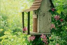 Garden Decor / Garden decor.  DIY ideas to create inviting outdoor areas.