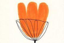 Peach & Tangerine / peach, tangerine, trend 2012, pessego, tangerina, laranja