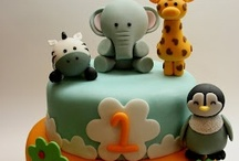 Baby Cakes / cakes for baby occasions / by Nikola Botzko Clapp