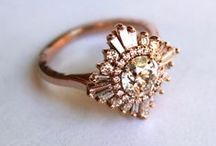 J E W E L S / Wedding rings, hair pieces, jewellery,