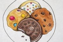 { food illustration }