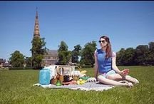 Lashings of Ginger Beer / Practical picnic knits for the British summer