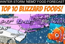 Top 10 Blizzard Foods! / Our Picks and Easy Recipes for the Best Blizzard Food!