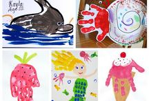 Daycare class / Crafts for the kiddos / by Bridgett Johnson