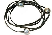 Tahitian Black Pearl Jewelry by Pame' / Tahitian Black Pearls are more edgy than white.  Wear these for good luck and protection in the water.  Wear Tahitian black for a bit of grrrrrrrrr feeling