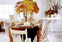 Fall Decor / Easy DIY fall outdoor decorating ideas.  Enhance your home from curb to door.