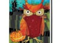 Adorable Owl Flags / Adorable decorative outdoor owl flags. Whoooo doesn't love 'em?  Decorate indoors and outdoors with adorable owl flags with rich vibrant colors from www.flagsonastick.com