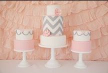 Parties - Miss C 1st Birthday (Chevron) / by Silvia Fontana
