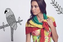 Fly away / Light-as-air knits with a punch of colour in bold, bright shades. Incorporate cute motifs of birds, balloons, kites…let your imagination run wild.