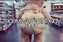 Bucket List / Before I die