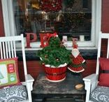 Front Porches / Front porches - places to spend time with family and friends. Decorative flags for porches and garden accents.