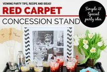 Oscar and Red Carpet Viewing Party Ideas!