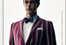 suit & tie.