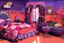 Bohemian Kids, Bohemian girls room, bedroom / Bohemian Kids, Bohemian girls room, bedroom, Gypsie girl, colorful kids room