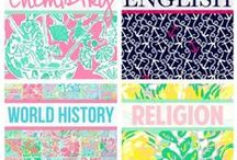 Binder Covers for school / by Cassie Dolby