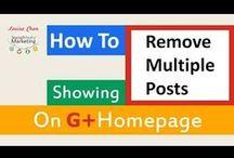 Google Plus Resources