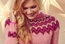 Nordic Knits / Nobody does cold-weather knitting better than our Nordic neighbours! Embrace traditional patterns and techniques but put your own twist on them to create something new and original.