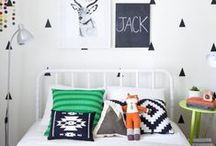 big kid's room / Create inspired, colorful, and playful rooms that will grow with your munchkins.