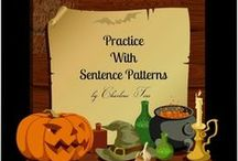 Halloween Lessons and Activities / Here are a few activities your students will enjoy during the weeks before Halloween.