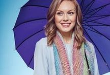 Whatever the Weather / They say us Brits are obsessed with the weather - and it's true! So why not take that obsession and use it to inspire some cute knitwear? Think about clouds, rainbows, sunbursts and more. Use colourwork and textured stitches to create cute garments and accessories.