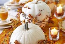 Thanksgiving - Give Thanks / Thanksgiving indoor and outdoor decor.  Let's talk turkey