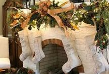 Christmas Mantels / Decorate your mantel for the holidays. Create magical Christmas mantels. Adorn your home for the holidays.
