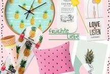 Fruit Interior / Eine optische Vitaminbombe bringt frische und gute Laune in dein Zuhause! http://www.dontkillmyvibe.net/frueche-fuer-dein-zuhause/