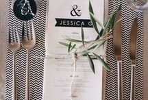 BLACK AND WHITE wedding styling / Black and White Wedding Ideas and Inspiration