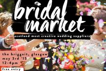 WEDDING COLLECTIVE bridal market May 2015 / Collective of Scottish / Glasgow Wedding Suppliers - Wedding Fair and Bridal Market @ The Briggait Glasgow Spring 2015
