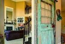 Barn Doors for Interiors / Barn doors are great space savers, plus add a unique decorative element to your home.