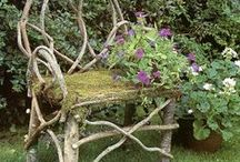 Garden Benches / Lovely Garden Benches for your outdoor décor. Benches are wonderful places to pause and spend time with friends and family.