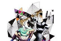 My Mixed-media ✌ / Mixed-media, poster, collage, illustration, sofialimasousa