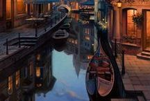 Romantic Venice / Those small, slender streets, that hid the most romantic stories of all times..