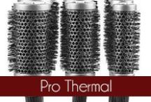 Pro Thermal - Olivia Garden / The Olivia Garden Pro Thermal hair brushes are professional and anti-septic and are the newest generation of the sucessful thermal brush line. Founded in 1968, #OliviaGarden has a long-standing, family history of designing and manufacturing high quality beauty tools engineered to exceed hairdresser and consumer needs. Find the right brush for your hair at OliviaGarden.com #BeautyTools #ProThermal