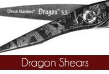 Dragon - Olivia Garden / The Olivia Garden Dragon shears are hand crafted with the finest Japanese steel. With a titanium coating, it reinforces the blades for rigidity and strength. Founded in 1968, #OliviaGarden has a long-standing, family history of designing and manufacturing high quality beauty tools engineered to exceed hairdresser and consumer needs. Find the perfect shears at OliviaGarden.com #BeautyTools #Dragon