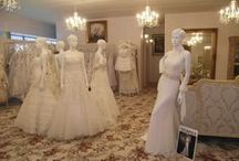 Our Bridal Boutique / Come model our gorgeous designer wedding gowns in front of your family and friends in the ambiance of our French-inspired showroom, with the personalized assistance of our professional bridal consultants. Unveil the 'Sleeping Beauty' within you ♥