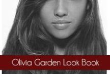 The Olivia Garden Look Book  / This board represents the looks from #OliviaGarden #BeautyTools. Each hairstyle is created using different #hairbrushes, #shears, and #curlers. Find a look you love and the #BeautyTools to create it!